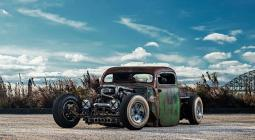 Supra motoros rat-rod?! 1949-es Ford F3
