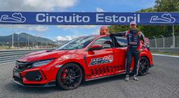 A Honda Civic Type R Estorilt is meghódította