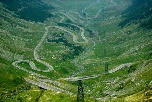A Transzfogarasi-út részlete