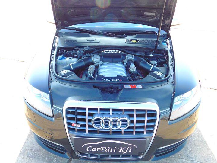 A szörnyeteg szíve - Audi egy Lamborghini szívével