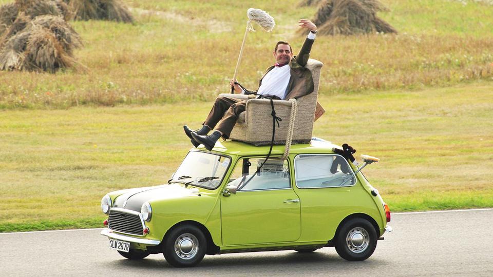Mr. Bean, ahogy vezetni szokott