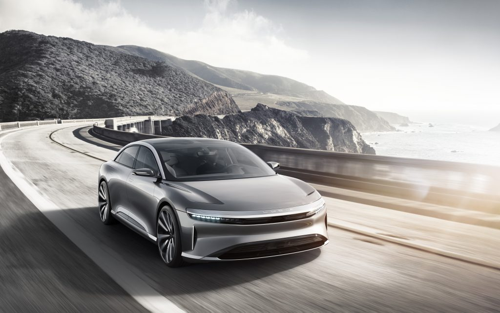 A Lucid Motors Air modellje