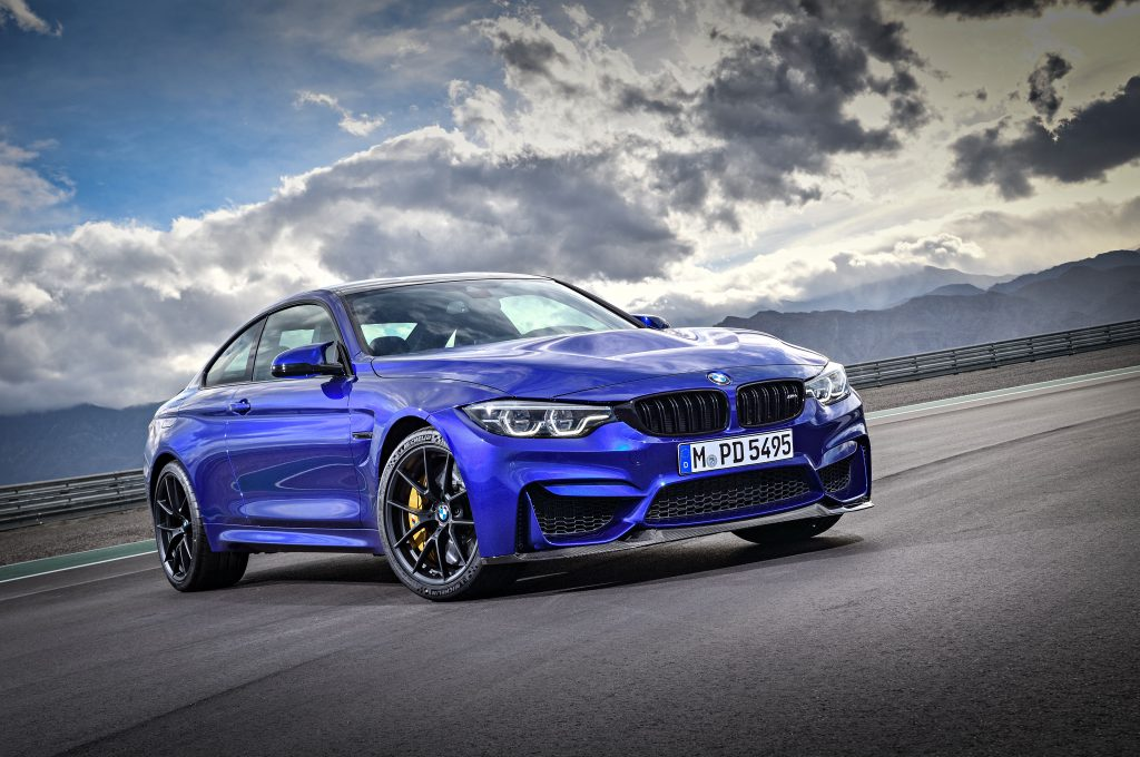 BMW M4 CS duplaturbós coupé