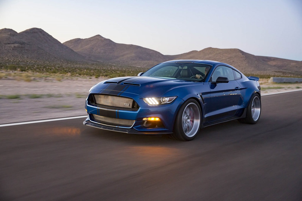 Shelby Mustang Super Snake konceptautó