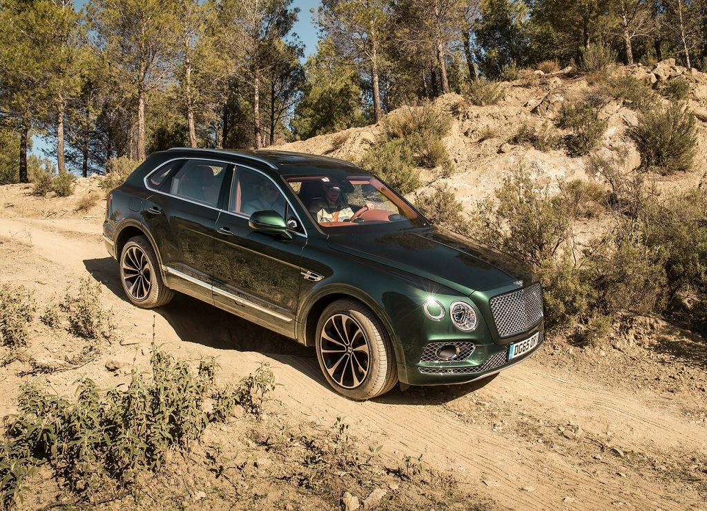 Bentley Bentayga Continental GT