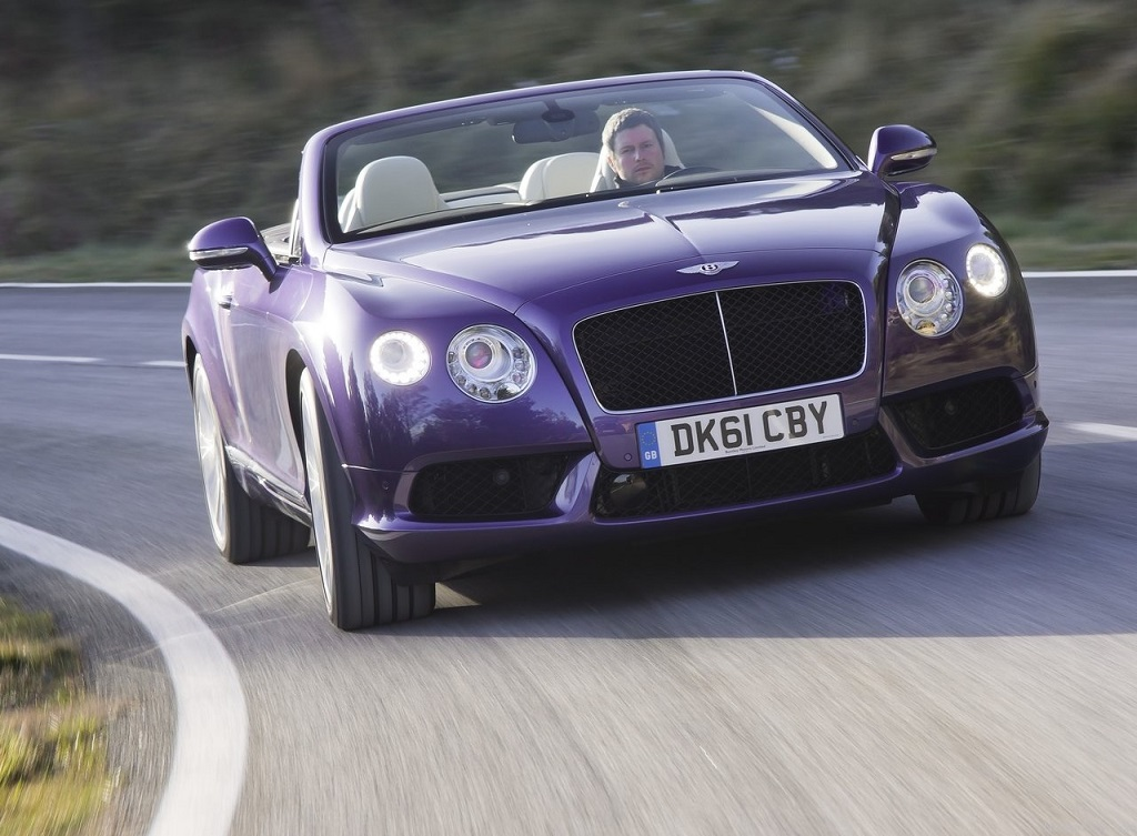 Bentley Continental GTC kabrió