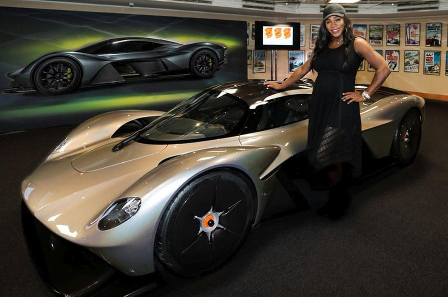 Aston Martin Valkyrie Serena Williams