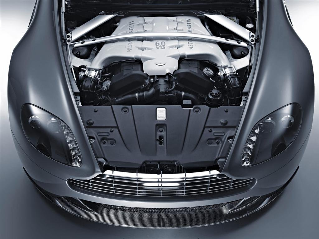 DB9 engine bay