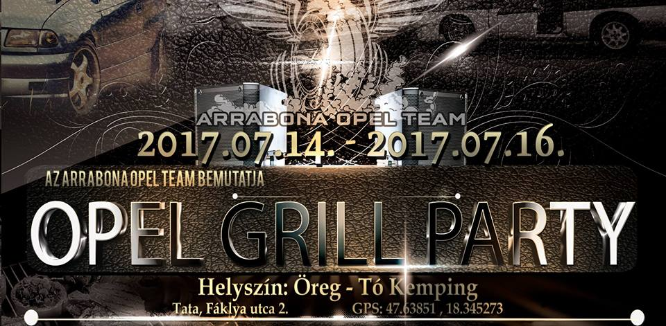 III. Opel Grill Party