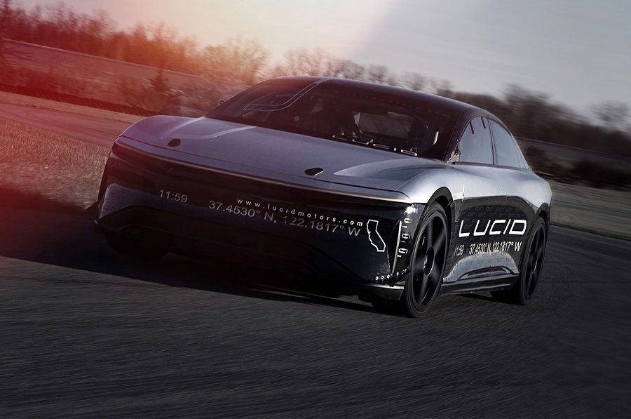 Lucid Air Alpha Speed Car teszt