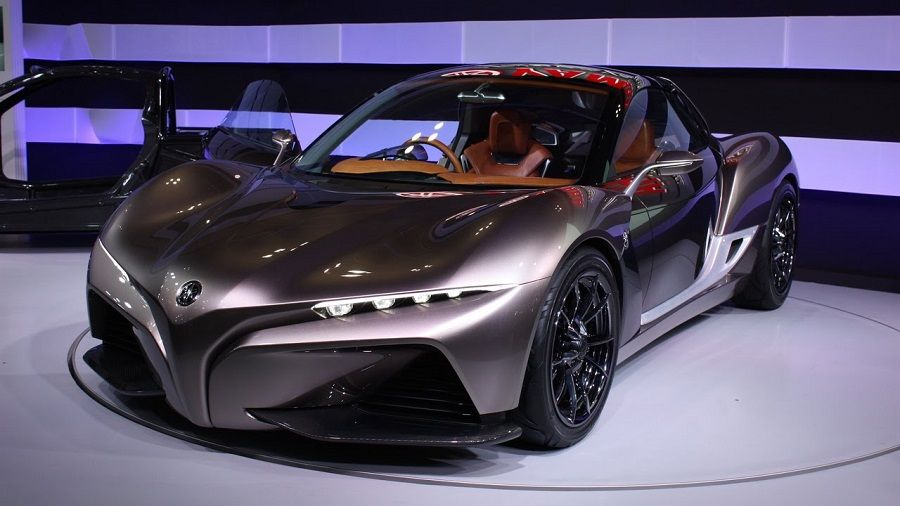 Gordon Murray: Yamaha Sports Ride iStream
