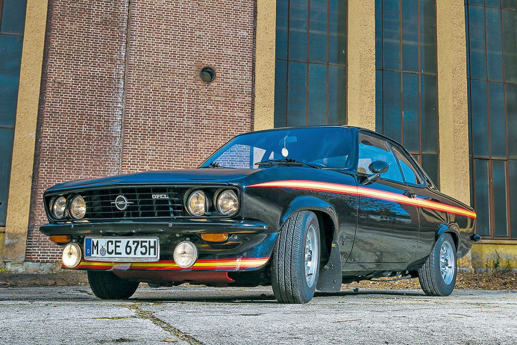 Opel Manta Black Magic