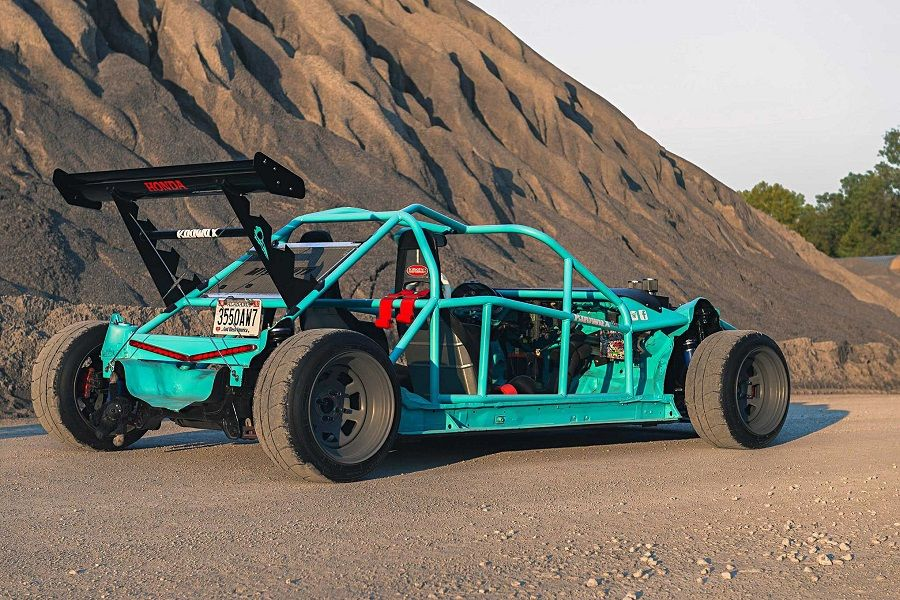 Exoskeleton beach buggy