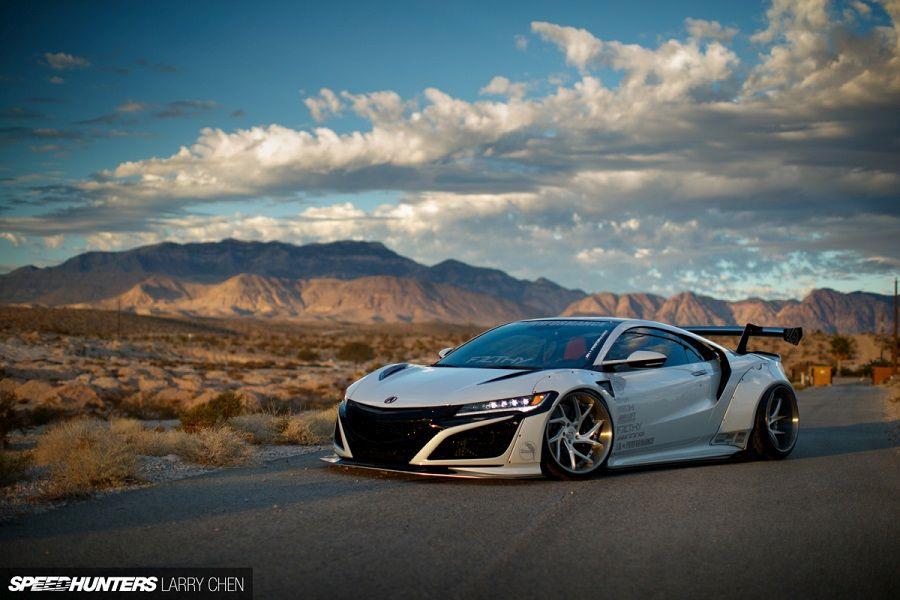 Liberty Walk NSX a nevadai sivatagban