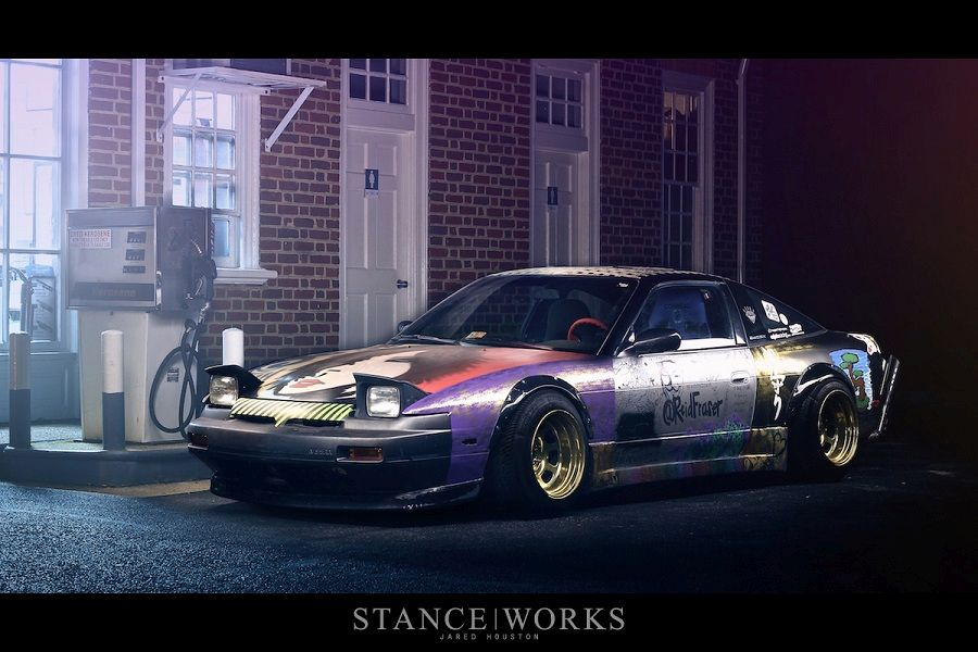 Nissan 240SX Pignoise Stance tuning