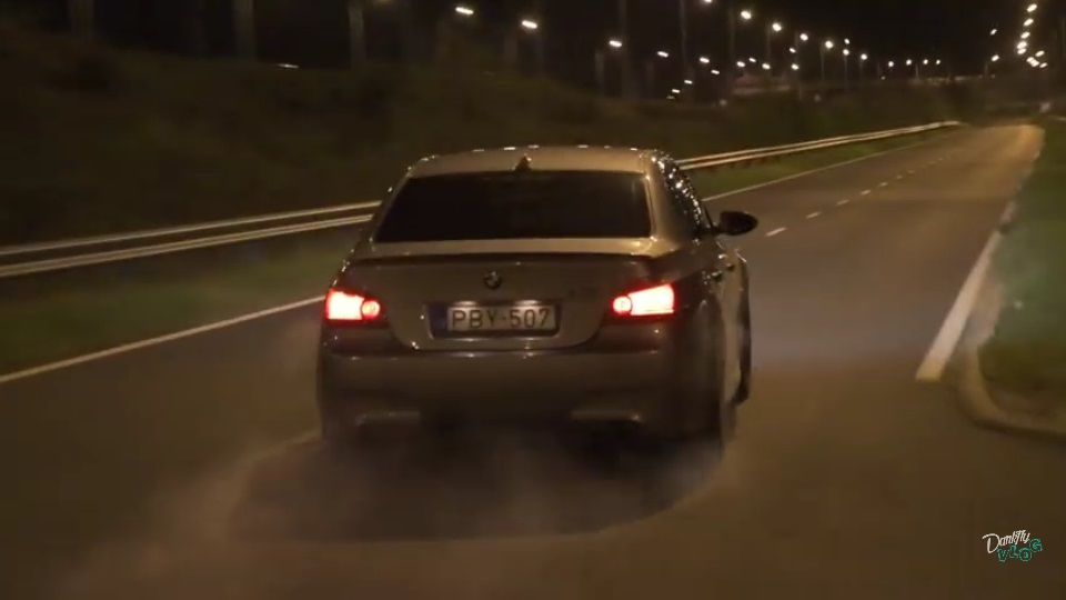 BMW M5 E60 drift