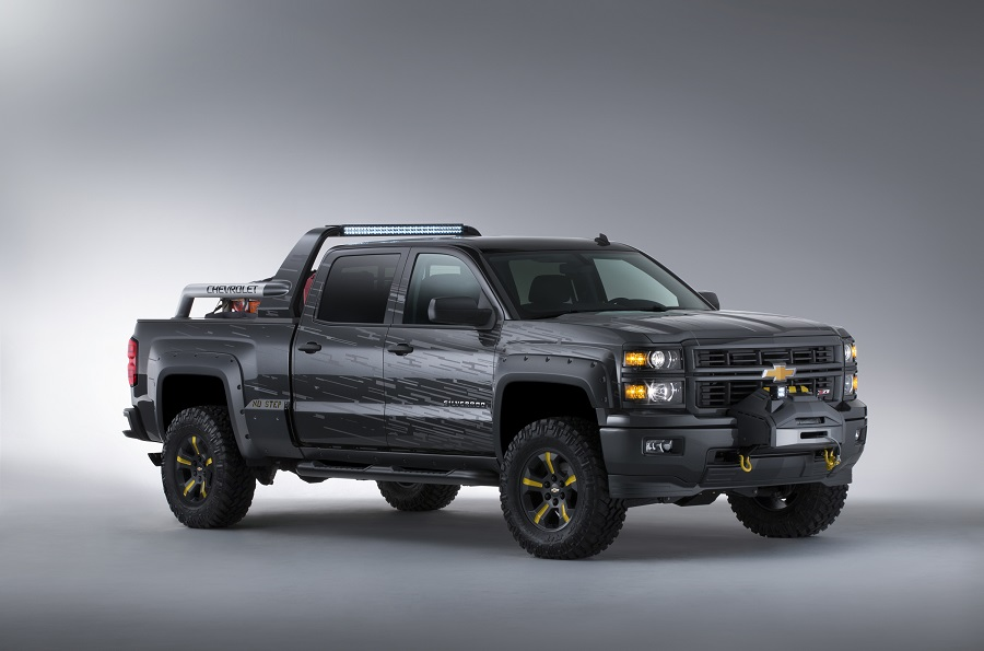 Chevy Silverado Black Ops Emergency kivitel