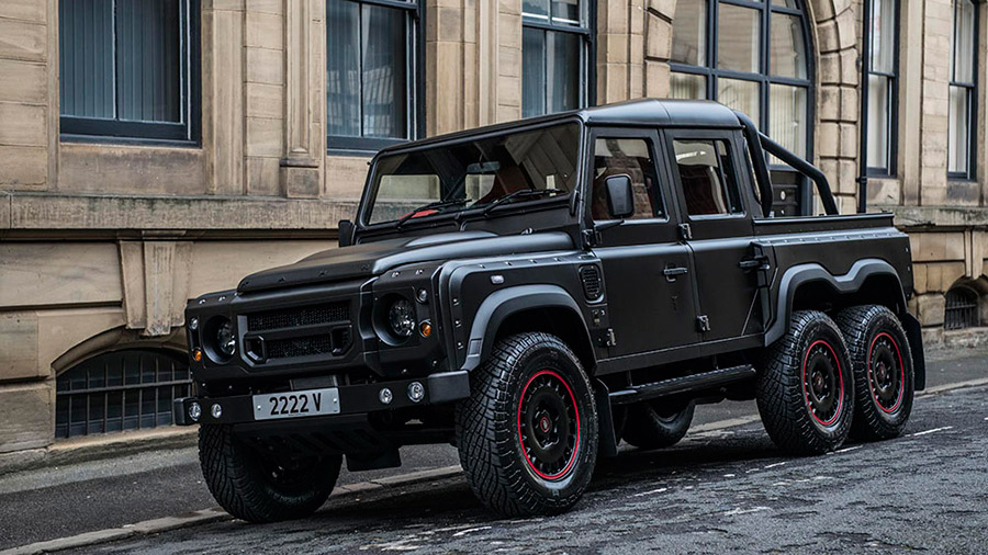 Kahn Design Land Rover Defener 6x6