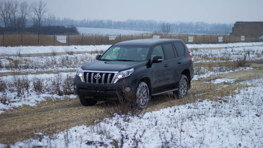 Toyota Land Cruiser - Off-road Teszt