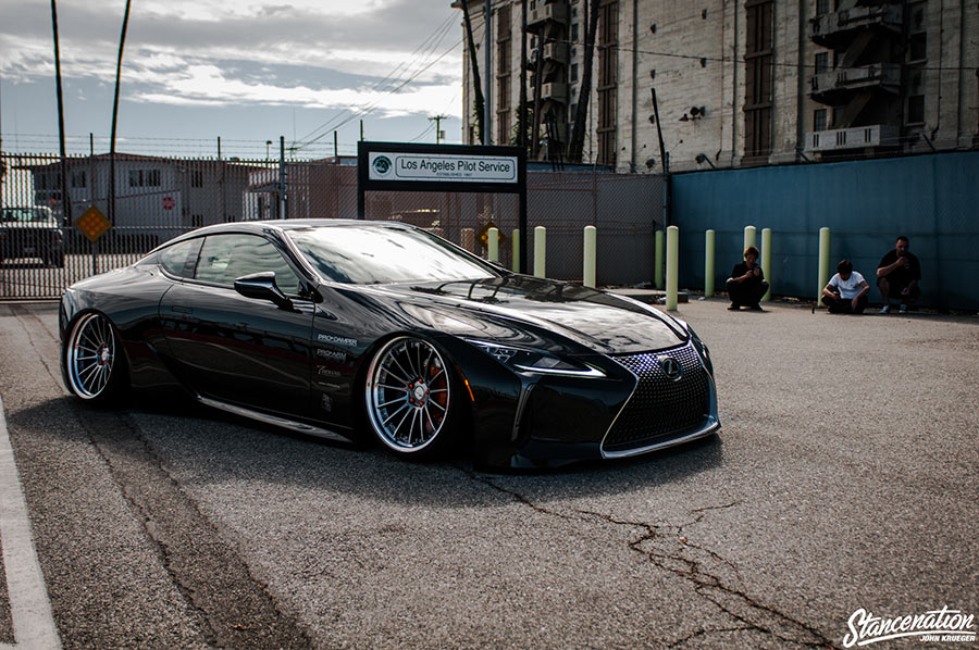 Lexus LC500 fastback coupe
