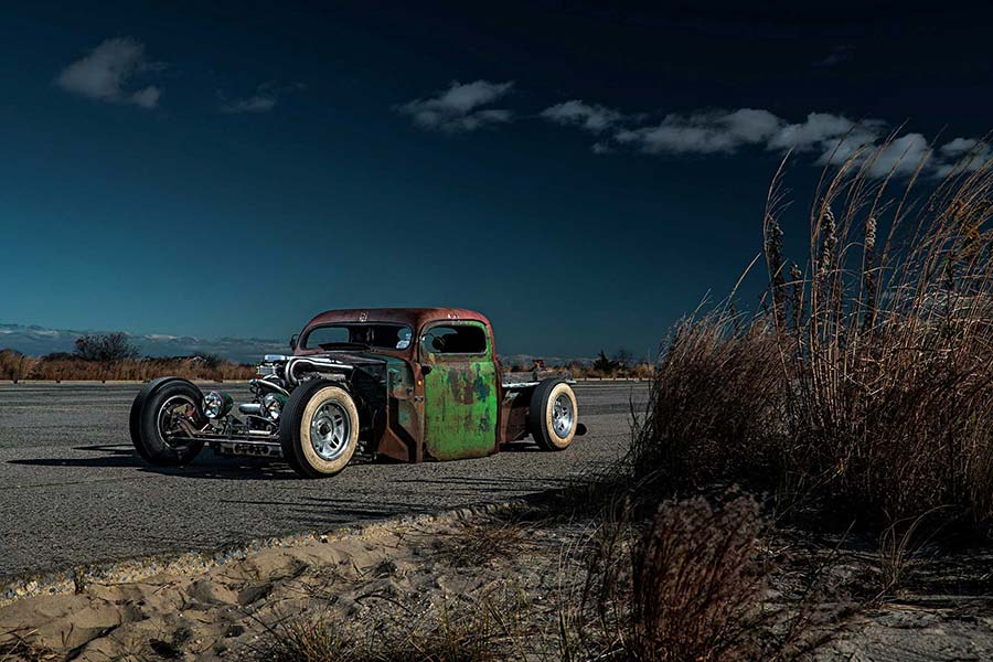 Ford F3 pickup Rat-rod