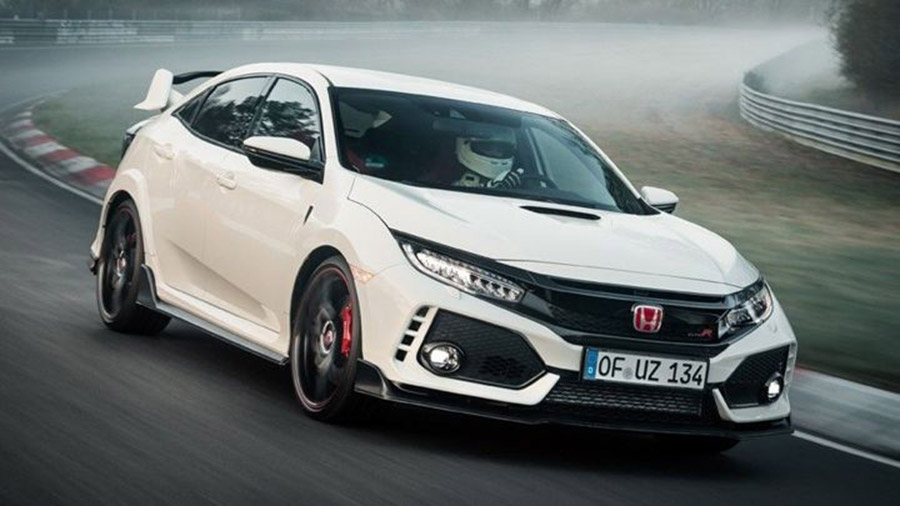 Honda Civic Type R szedán