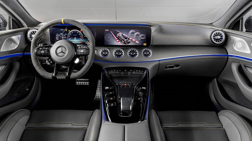 a Mercedes-Benz AMG GT Edition 1 beltere