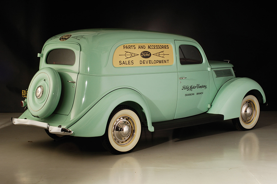 1937-es Ford Deluxe