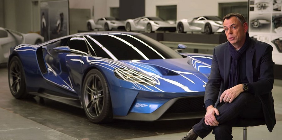 Chris Svensson és a Ford GT