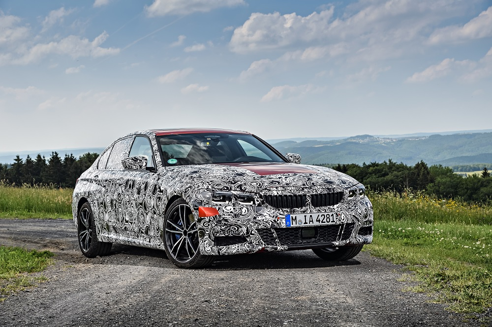 BMW 3-as lematricázva