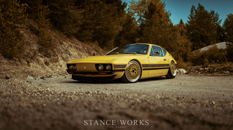 1973-as Volkswagen SP2 tuning, elölről.